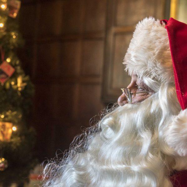 Santa at Astley Hall